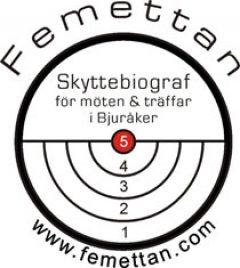 Femettan Skyttebiograf i Bjuråker logo
