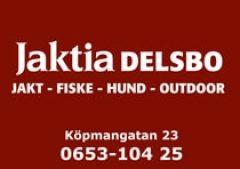 Jakt och fiske butik i Delsbo